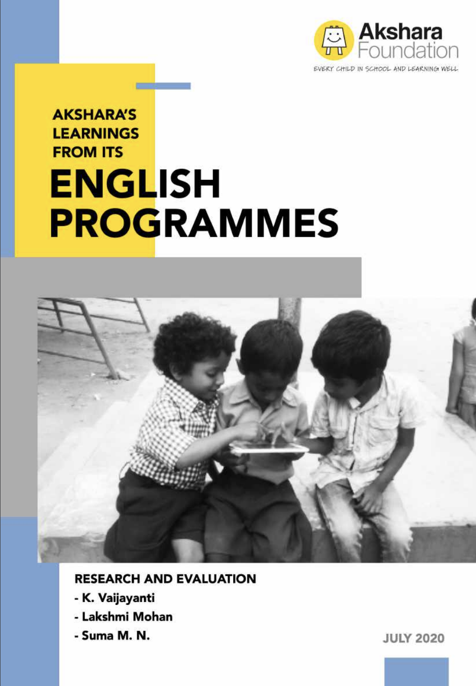 English Programmes Report 2020