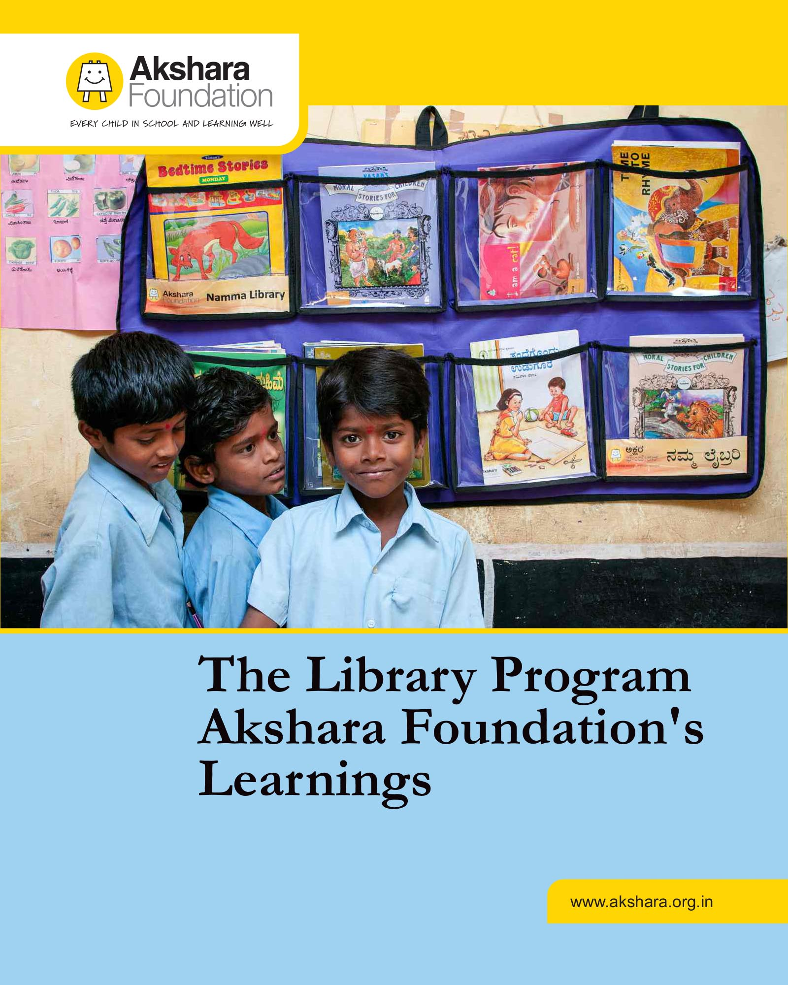 The Library Program - Akshara Foundation's Learnings, 2017