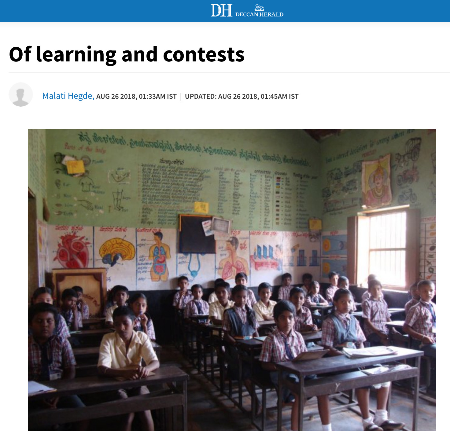 Of Learning and Contests