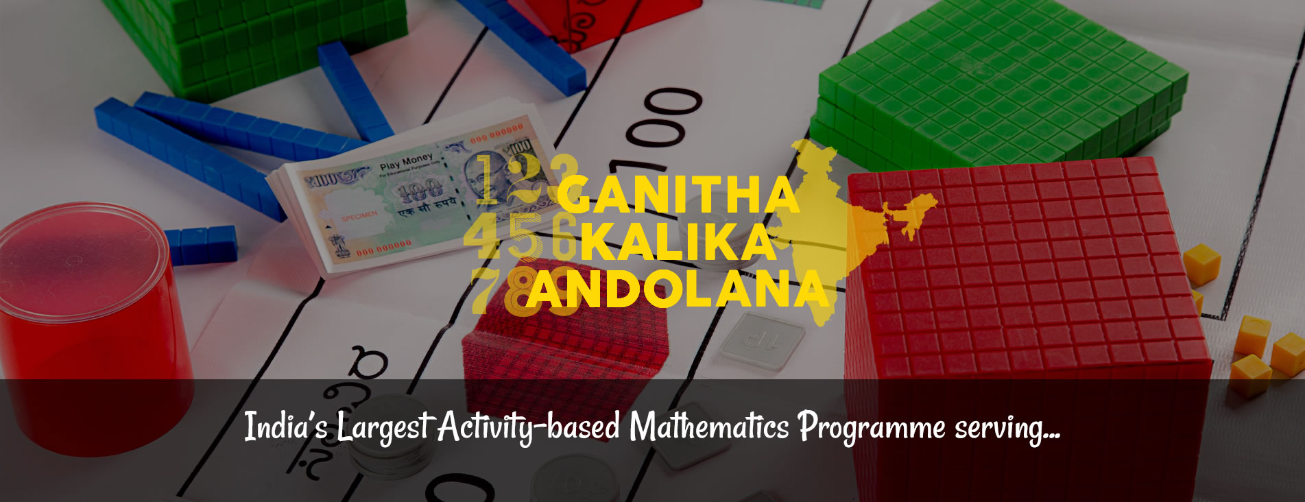 India's Largest Activity-based Mathematics Programme serving...