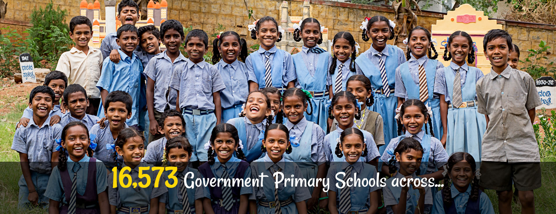 16,573 government primary schools across...
